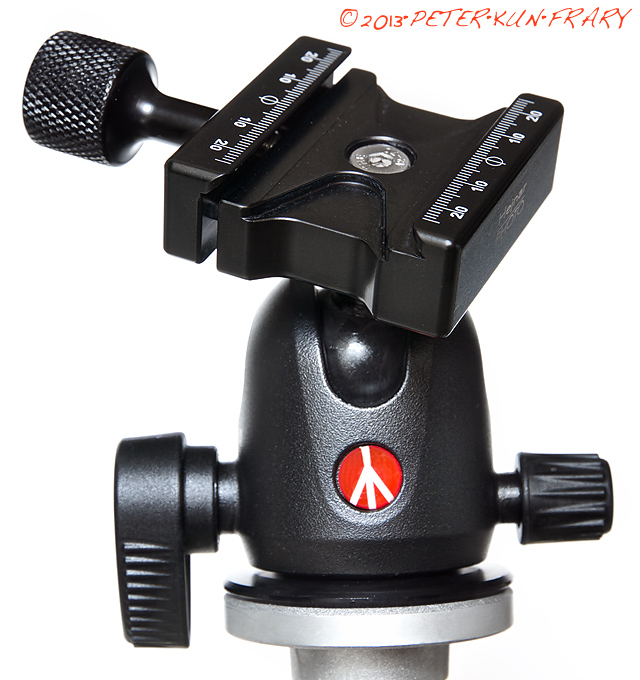 Ball Head Lever Quick Release Clamp 60MM Tripod Head acra Swiss Plate F//DSLR