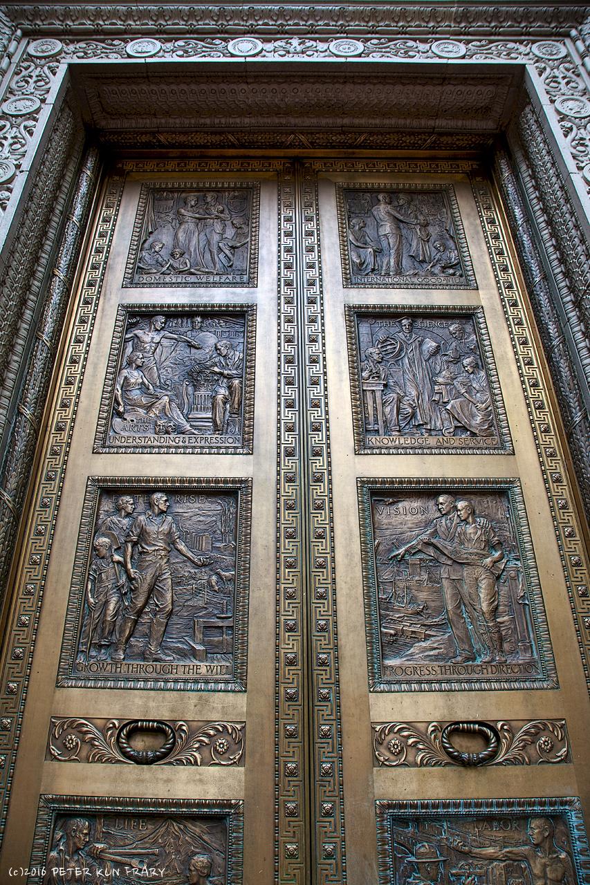 \ Domestic Welfare\  Bronze Door \u2022 Three Kings Building \u2022 Portland OR & Domestic Welfare\